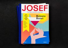 Josef, the alternative Travel BookStudio Mut created the name, the identity and the graphic design for Josef, the insider's travel book to South Tyrol, Italy.Edited by Franz Lab130 Pages, Printed in ItalyISBN 978-88-941414-0-5Design: Studio Mut. T…