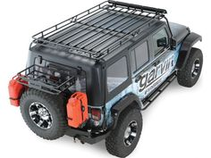 Garvin Industries Wilderness Expedition Rack For 07-14 Jeep® Wrangler Unlimited JK 4 Door Quadratec Part No: 12041.004 Manufacturer Part No: 44074 $1100