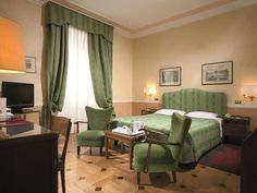 Rome Bettoja Massimo D'Azeglio Hotel Italy, Europe The 4-star Bettoja Massimo D'Azeglio Hotel offers comfort and convenience whether you're on business or holiday in Rome. The hotel has everything you need for a comfortable stay. Free Wi-Fi in all rooms, 24-hour front desk, facilities for disabled guests, luggage storage, Wi-Fi in public areas are there for guest's enjoyment. Television LCD/plasma screen, internet access – wireless (complimentary), non smoking rooms, air condi...