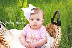 Baby L's half birthday!  #ashleystewartphotography #nwaportraitphotographer #childrensphotography #naturallightphotography