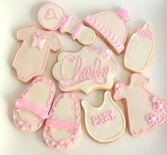 161 Best Baby Shower Cookies Images Baby Shower Cookies The