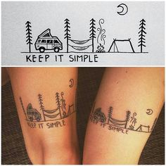 Keeping it simple. Who would you get this matching tattoo with? Design by @david_rollyn. #myadventureblanket