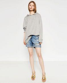 THE SMALL DENIM SHORTS (ΑΠΟ ΤΗΝ ΣΥΛΛΟΓΗ Zara shop)