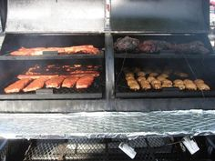 Competition meats: Ribs, Chicken, Pork Butts and Brisket.