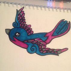 swallow sharpie tattoo