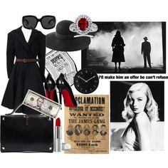 Film noir essentials for the femme fatale. Holiday Style, Holiday Fashion, Mia Wallace, Dita Von Teese, Flappers, Inspired Outfits, College Outfits, The Twenties, Photography Ideas
