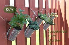 Suspended Herb Garden DIY