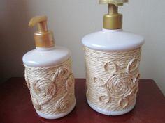 Porta sabonete decorado
