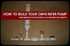 How To Build Your Own River Pump - SHTF Preparedness