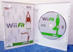 Wii Fit (Nintendo Wii, 2008) -  Rated E   SB7