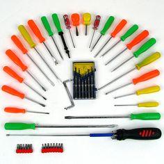 Trademark Commerce 75-2252 Trademark Tools Extra Large 54 Piece Screwdriver Set