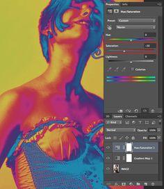 Photoshop--basic psychedelic effects! Graphic Design Posters, Graphic Design Illustration, Graphic Design Inspiration, Photomontage, Psychedelic Effects, Psychedelic Art, Plakat Design, Effects Photoshop, Pochette Album