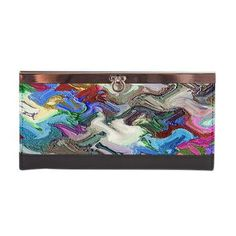 Clasp Wallet Migration - abstract construction from fancy simulated muds  $47.99
