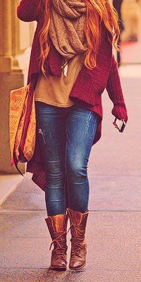 Women's Fashion Decalz | Lockerz  -- totally wish I could pull this off on a Friday. <3 the colors and layers