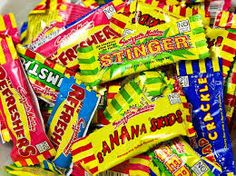 Swizzels Matlow Mini Me Chew Bars, Party Bag Fillers, Retro Sweets,Select Weight Bar Mix, Penny Candy, Retro Sweets, Snack Recipes, Snacks, Party Bag Fillers, Mini Me, Pop Tarts, A Food