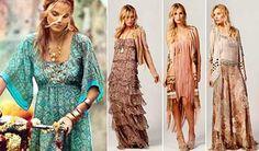 Tendências da Moda Hippie: Fotos, Modelos, Dicas, Looks
