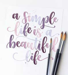 Likes, 81 Comments - Brigitte Lynn ( on In . - Brush lettering Likes, 81 Comments - Brigitte Lynn ( on In .