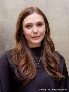 Image result for elizabeth olsen hair