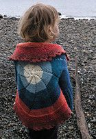 Pinwheels sweater (free pattern)...adult pattern also available to match (!)