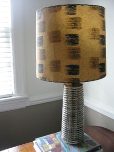 Inspiration for a diy shade? Decor, Lamp, Diy Lamp, Ceramic Table Lamps, Mid Century Ceramics, Table Lamp Shades, Diy Shades, Home Decor, Ceramic Table