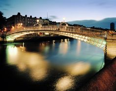 Dublin. I've been here, walked across that bridge. It's really cool to look at pins and be able to say that.