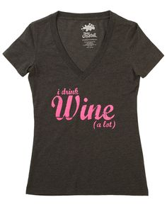 Wine (a lot) Tee – Team Cocktail Yes.