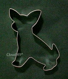 CHIHUAHUA Dog COOKIE CUTTER for Dog Biscuits, Treats, Crafts, Easter Basket Cookies ( Hand Soldered for Extra Quality ). $8.50, via Etsy.