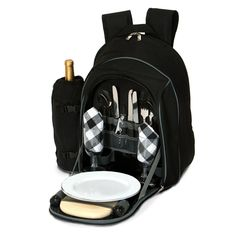 Picnic Plus Endeavor 2 Person Picnic Backpack - PS2-258BL
