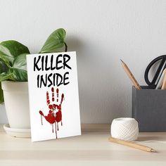 'Killer Inside - Bloody Imprint' Art Board Print by RIVEofficial Watercolor Paper, Art Boards, Custom Design, Digital Art, Finding Yourself, Dots, Trends, Texture, Accessories