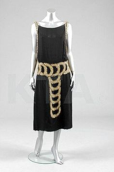 ~Dress Madeleine Vionnet, 1921~    Kerry Taylor Auctions