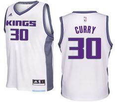 207fdf0d4e1 Sacramento Kings  30 Seth Curry 2016-17 Seasons Home New Swingman Jersey  White Michael
