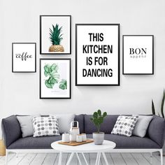 This Kitchen Is For Dancing Quote Wall Decor Canvas Prints Coffee Wall Art Pictures Kitchen Shop Wall Art Posters Kitchen Posters, Kitchen Prints, Kitchen Wall Art, Kitchen Shop, Kitchen Quotes, Kitchen Canvas, Design Kitchen, Kitchen Living, Room Kitchen