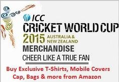 Buy ICC World Cup Merchandise like T-Shirts, Jerseys, Mobile Covers & Cases, Cap, Bags & Tags etc that are exclusively available online at Amazon store. ICC World Cup Merchandise available for Men, Women & Kids. Amazon Offer with Free Shipping anywhere in India with Cash on Delivery option.