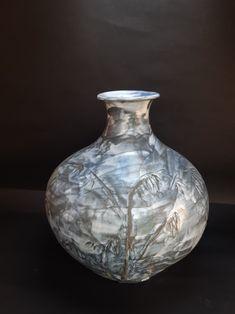 Porcelain vase, Jed Gjerek Porcelain Vase, Ceramic Artists, Ceramics, Home Decor, Ceramica, Homemade Home Decor, Decoration Home, Room Decor, Ceramic Art