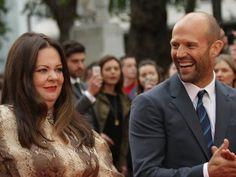 Jason Statham Has Melissa McCarthy in Stitches