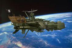 Arcadia  / Captain Harlock