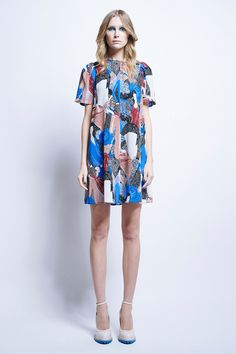 Universe Dress - All Items | Karen Walker