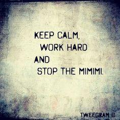 STOP THE #MIMIMI