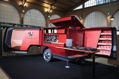 Peugeot développe un food truck de luxe   GQ