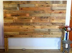 Wooden pallet headboard comes in all sizes. Not2shabby Furniture Catalogue