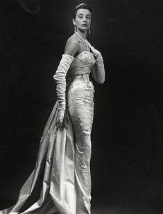 Balmain couture, c.1953
