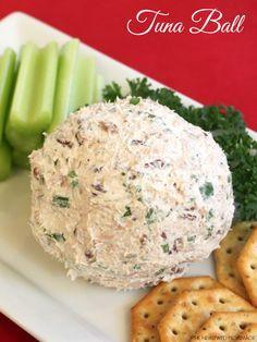 Healthy Hors d'oeuvre: Tuna Ball #OceanNaturals #shop #cbias