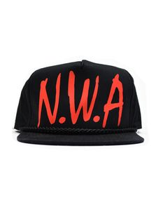 5acc240af0c62 N.W.A Black Red Snapback by KYC Vintage N.W.A Black Red Snapback  26.00  Deadstock New