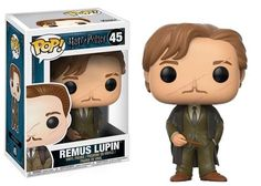 From Harry Potter, Remus Lupin, as a stylized POP vinyl from Funko! Figure stands 3 inches and comes in a window display box. Check out the other Harry Potter figures from Funko! Collect them all! Dobby Harry Potter, Harry Potter Film, Harry Potter Pop Vinyl, Harry Potter Pop Figures, Theme Harry Potter, Funko Harry Potter, Harry Potter Stuff, Remus Lupin, A Wrinkle In Time