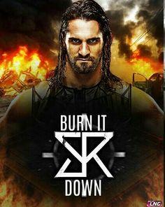 Wwe Seth Rollins, Seth Freakin Rollins, Wwe Superstar Roman Reigns, Wwe Roman Reigns, Burn It Down, Wwe Wallpapers, Cm Punk, Aj Styles, John Cena