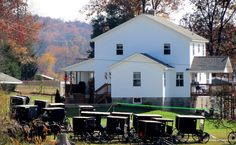 Everything You Want to Know About: Amish Church - No Church Buildings