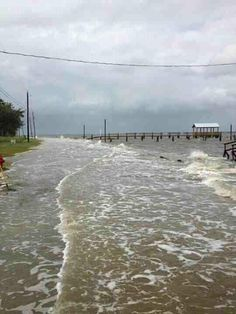 Hurricane Issac Bay St. Louis MS 8-29, 2012 -  A part of our coast that no one wants to remember, but it's life here in Bay St. Louis....