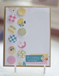 Love to Make Cards: Sneak Peek! Birthday Circles