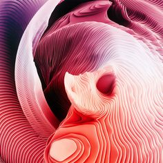 Ari Weinkle experiments with color, rhythm, and repetition to create these eye-catching artworks.  More digital art via Behance
