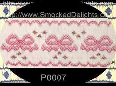 smocking plates patterns - Google Search